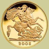 English Gold Sovereigns